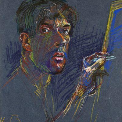 Selbstportrait Hans Bucher
