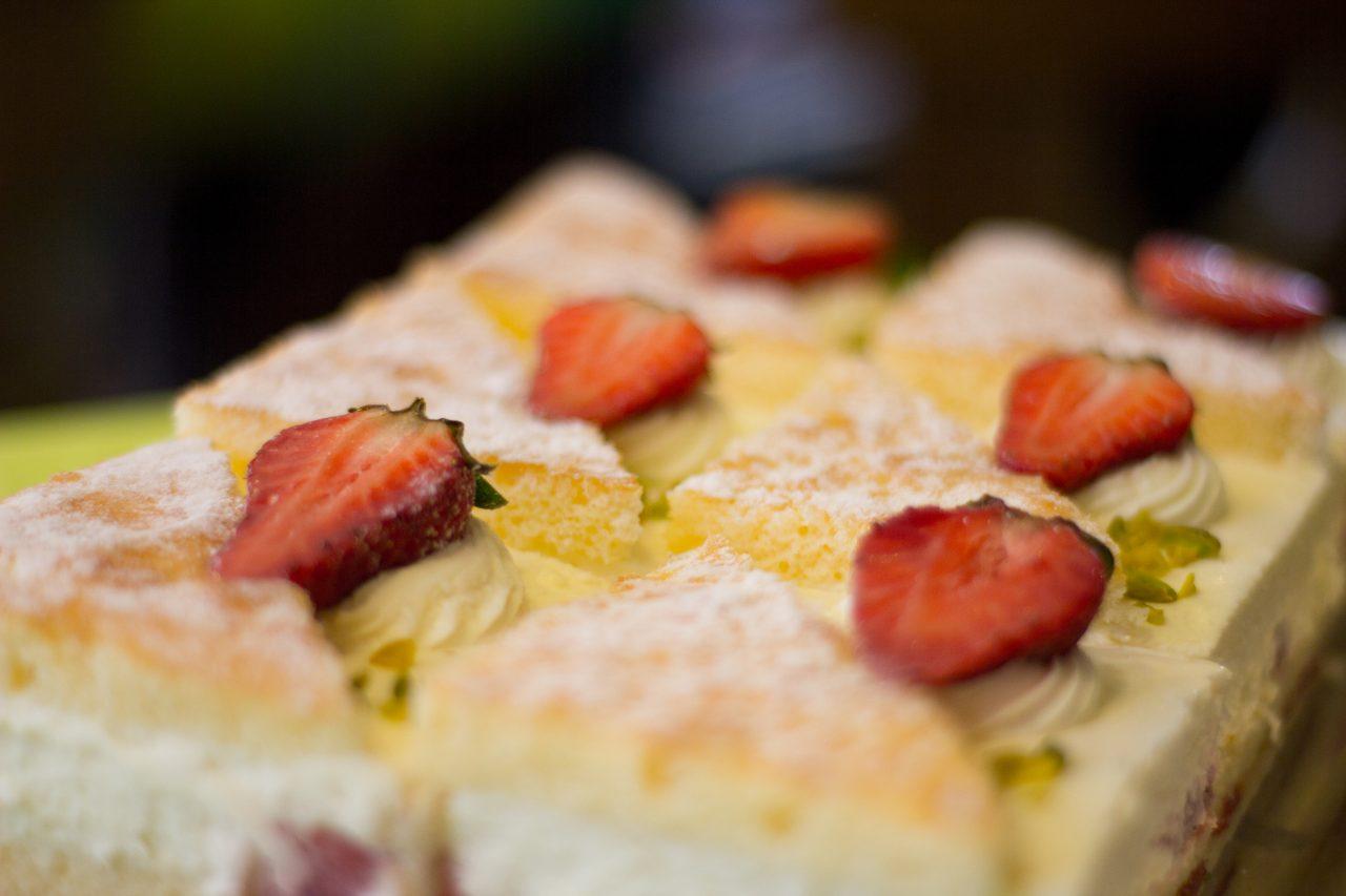 Kuchen im Gasthaus Scharf Eck