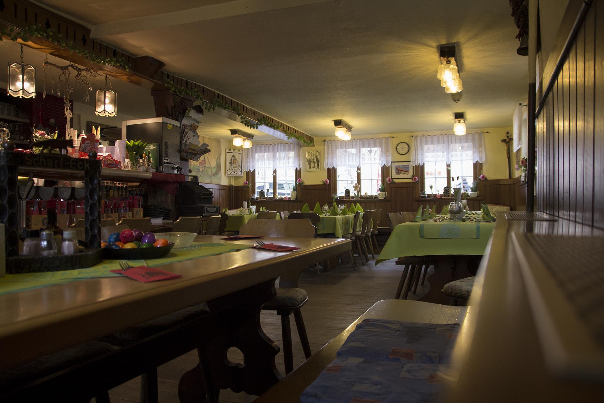 Impressionen des Gasthaus Scharf Eck